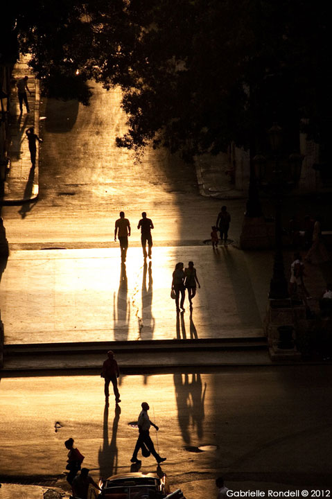 Dusk at the Plaza by Gabrielle Rondell Photography, guest artist at Claremont Art Studios' March 2015 First Friday Art Reception and Open House in San Mateo, California