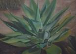 Maria Fregoso-Wood Agave Azul